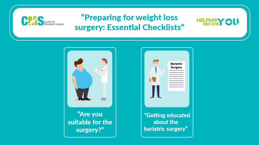 Preparing For Weight Loss Surgery Essential Checklists Centre For
